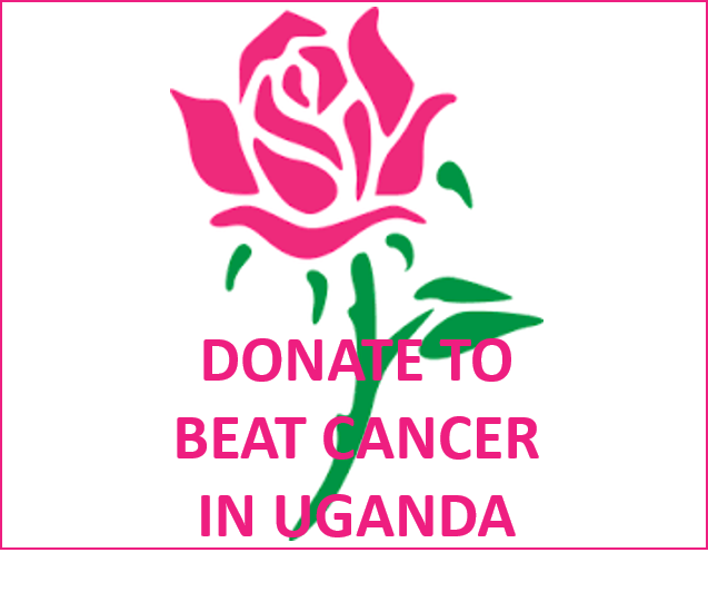 Donate button to beat cancer in Uganda