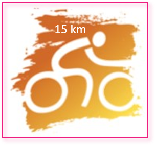 Logo Ride for the Roses 15 KM
